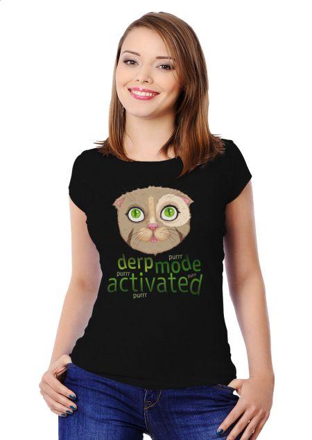 Derp Mode Activated design by Sweet Beet | Teequilla