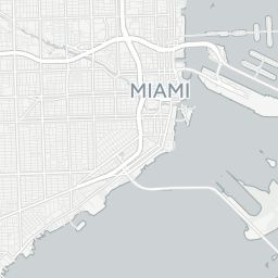 Miami, Florida (FL) Zip Code Map - Locations, Demographics - list of zip codes