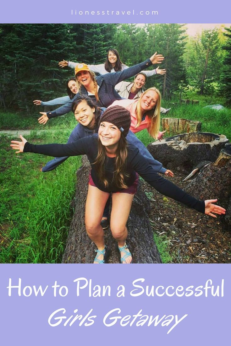 How to get all your favorite ladies together to plan a successful girls getaway! Whether it's a quick weekend away or a week abroad, everything you need to know to plan a trip with your favorite traveling women.