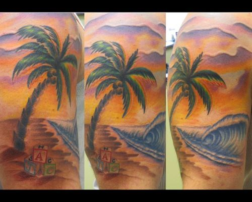 30 Best Tropical Tattoos For Women Images On Pinterest -4265