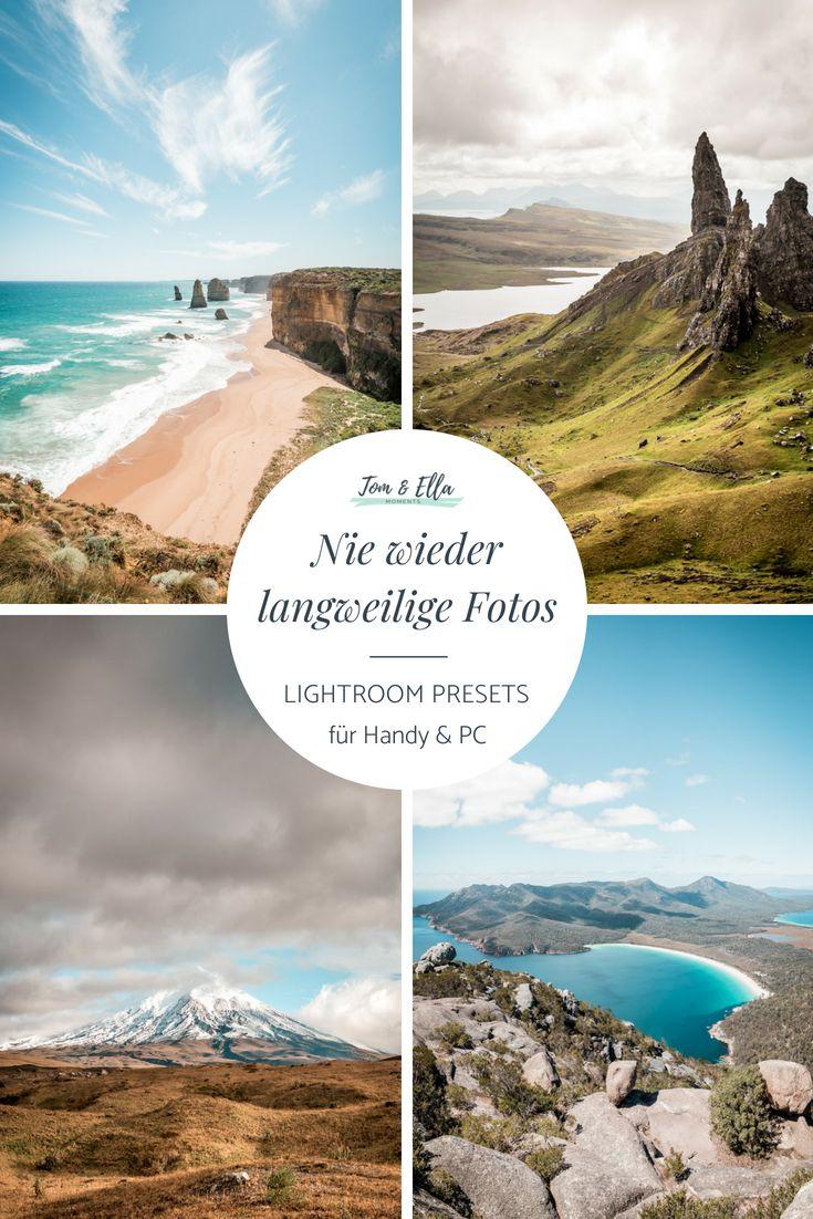 Lightroom Presets • Die 7 besten Lightroom Filter für perfekte Fotos
