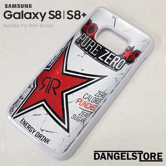 rockstar energy drink red pure zero For Samsung S8 | S8 Plus Case