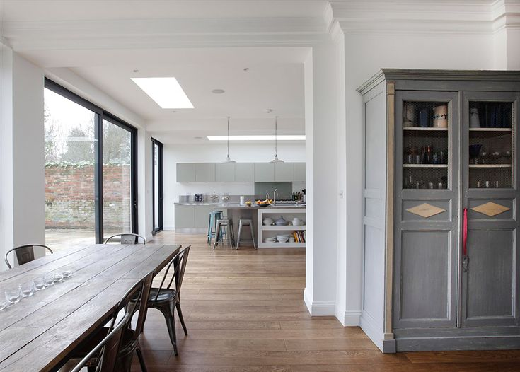 Kitchen design and fittings extensions, side returns in London