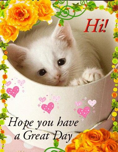 Have A Great Day! ❤ ❤ ❤ Pin From My Awesome Friend Pamela