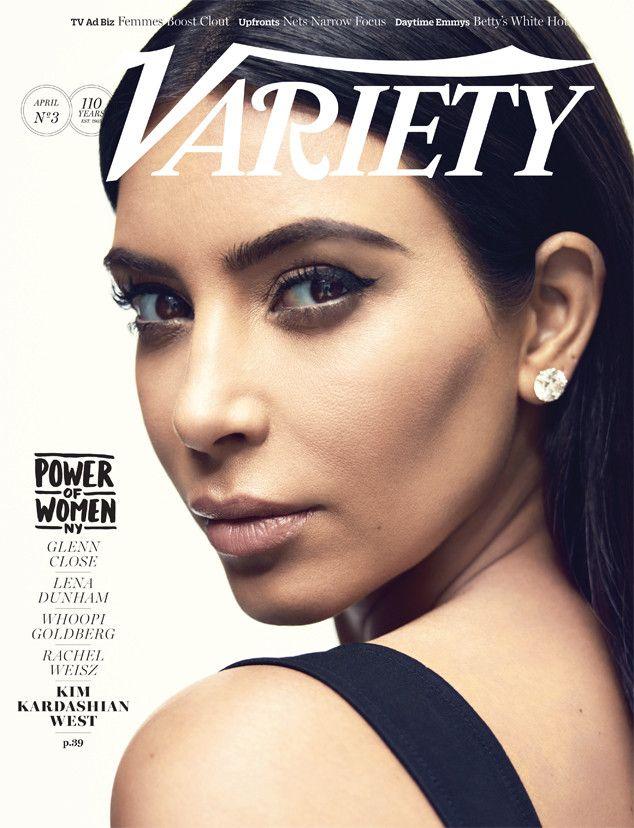 Kim Kardashian, Lena Dunham Cover Variety's Power of Women Issue