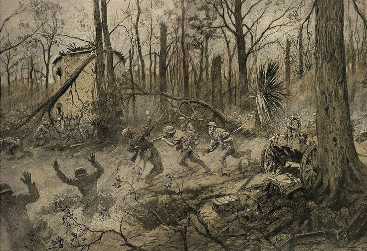 "After 20 days of intense fighting, the Marines won the Battle of Belleau Wood June 7, 1918. Due to their relentless spirit, Marines earned the nickname Teufelhunden, or ""Devil Dog,"" from the surviving German soldiers."