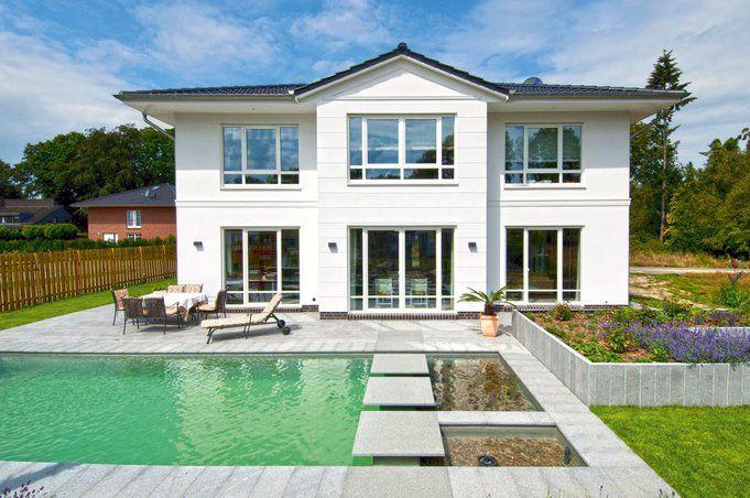 10 best haus aussenfassade images on pinterest modern for Stadtvilla plan