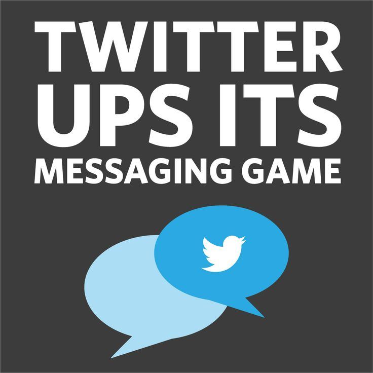 Danielle looks at three small changes to Twitter direct messaging, and what this means for brands. | Cerebra blog | social media