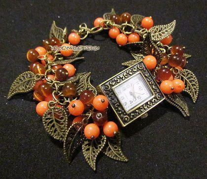 Часы `Осенний вальс` ПРОДАНО. Подробнее о том, как заказать товар, Вы можете узнать в правилах магазина www.livemaster.