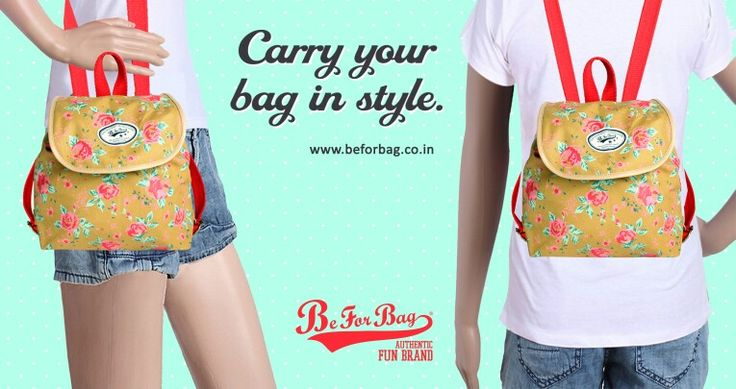 Change the bag depending on your mood. One Bag, Different Moods #bags #sling #backpacks #chic