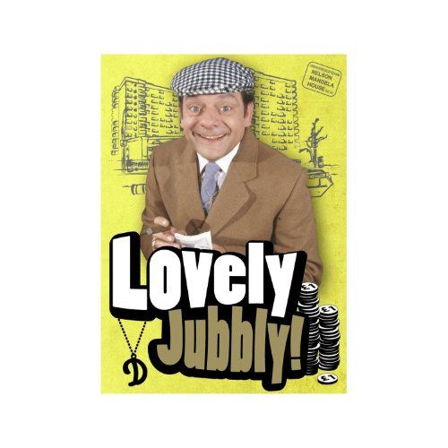Only Fools and Horses Del Boy - Lovely Jubbly Fridge Magnet null http://www.amazon.co.uk/dp/B005ALII3U/ref=cm_sw_r_pi_dp_hdczwb0AVC5FG