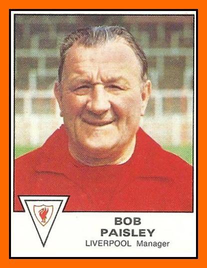 Old School Panini: UK Football Team - Liverpool FC 1980
