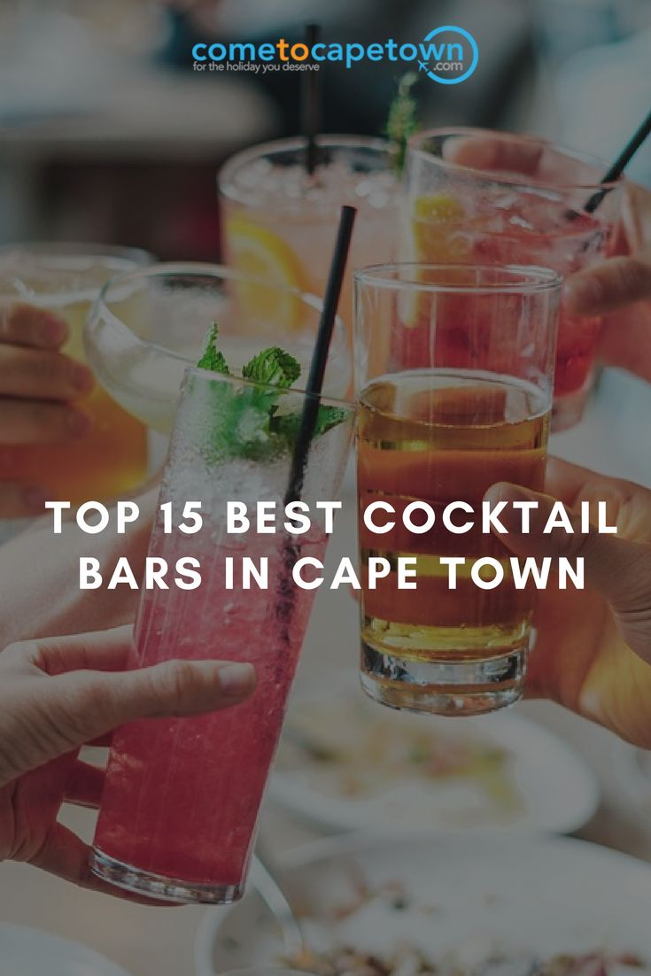From classy rooftop spots with spectacular views and swanky cocktail bars to luxurious hotel lounge bars and hidden watering holes, we've carefully handpicked the best 15 cocktail bars in Cape Town.