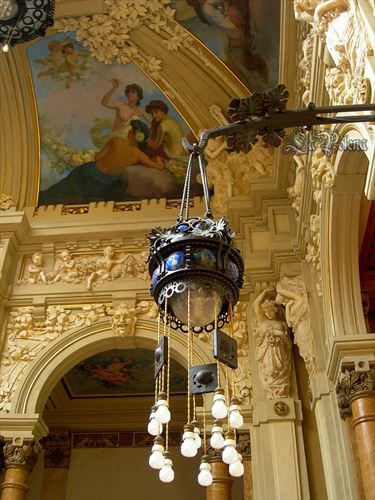 https://flic.kr/p/N21aRU   Casino /Liberty Style   Casino di San Pellegrino Terme (2011) Art Nouveau Lantern