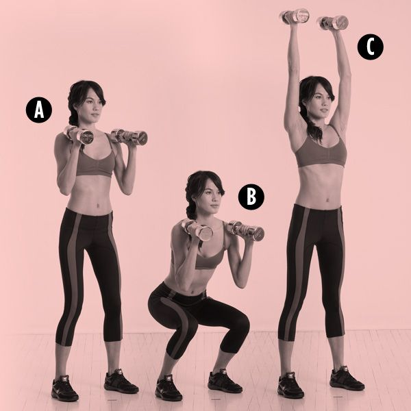 Follow this five-move plan to sculpt sexy tank-top shoulders and arms.