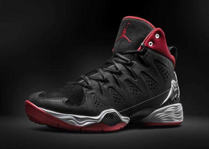 Jordan Melo M10 // Black/Red (3). Parts of this shoe