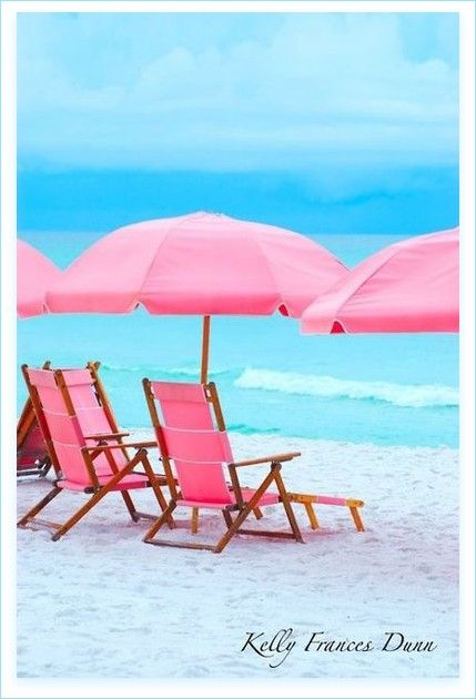 I have no idea where this is, but just put me in one of those PINK chairs with the PINK umbrella and I'll be one divine, delighted diva!!!!!!!!