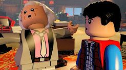 lego dimensions marty mcfly level all custcenes - YouTube