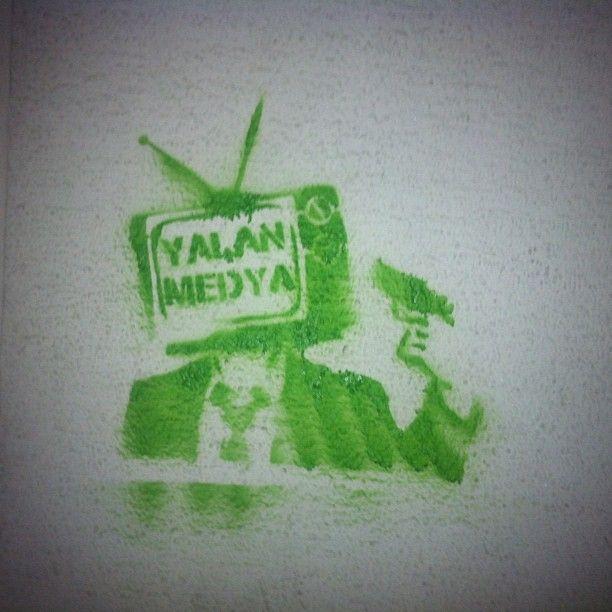 Taksim Gezi Park Protest #occupy #photograph #street #art #Istanbul #Turkey