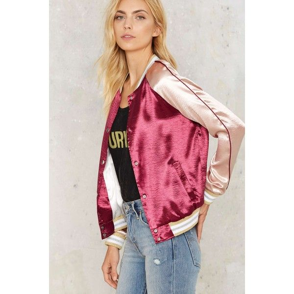 Best 25  Pink satin bomber jacket ideas on Pinterest | Satin ...