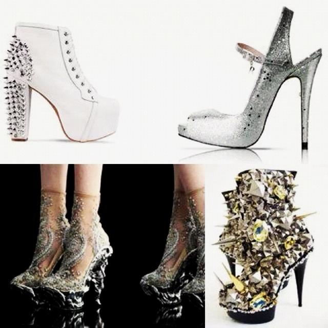 Zapatos Born This Way tour