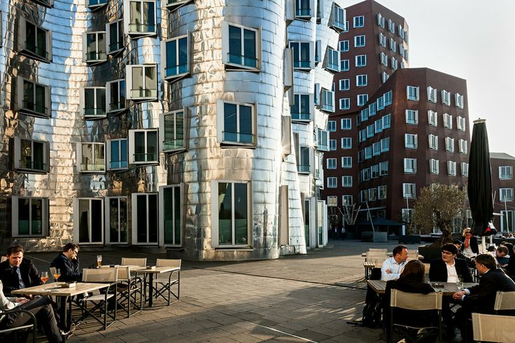 Frank Gehry and David Chipperfield have turned Düsseldorf's abandoned docklands into the Medienhafen, a Rhine-side creative quarter of fashion showrooms and design collectives