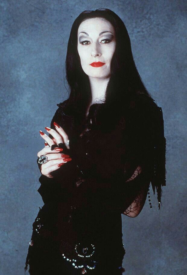 † Angelica Houston † As Morticia Addams ✝