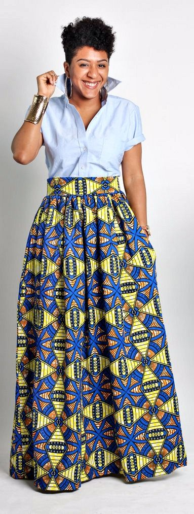 What says summer better than an African print maxi skirt? A truly timeless piece, this skirt will have you feeling like the belle of the ball no matter where you wear it. Maxi Skirt, skirt with pockets, Wax print skirt - The Classic Maxi Skirt.   Ankara   Dutch wax   Kente   Kitenge   Dashiki   African print bomber jacket   African fashion   Ankara bomber jacket   African prints   Nigerian style   Ghanaian fashion   Senegal fashion   Kenya fashion   Nigerian fashion   Ankara crop top…
