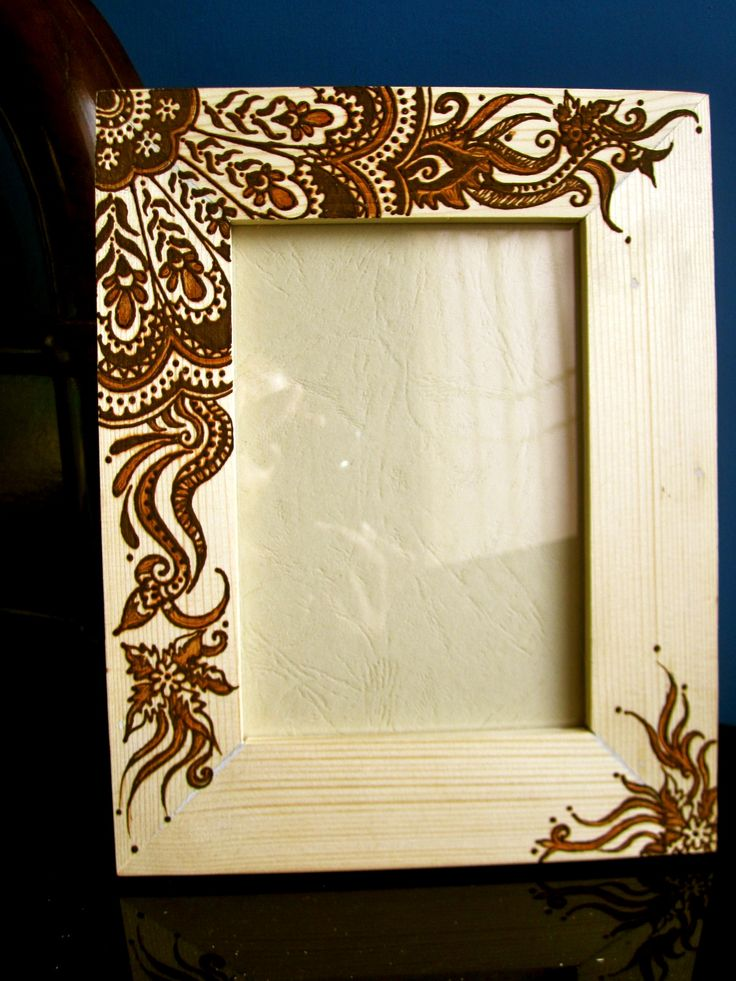 Henna Frame Created By Sara S Henna Henna Crafts