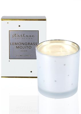 Mrs Darcy Starluxe Lemongrass Mojito Candle
