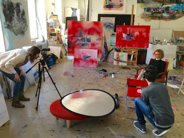 ArtBanana: Nahlížení do azeliérů | Ateliér Lucie Jindak Skřivánkové