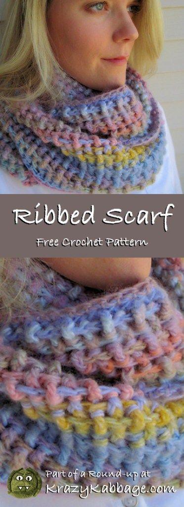 Infinity Scarf Free Crochet Patterns – Krazy Kabbage