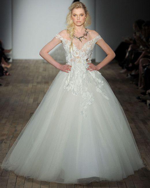 Lazaro Spring 2018 Wedding Dress Collection | Bridal Fashion Week ...