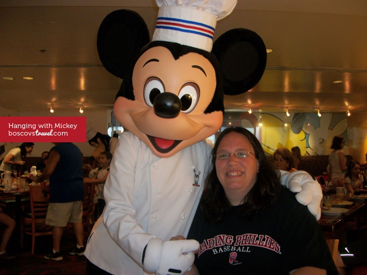 One of our Corporate Travel Specialists spending some quality time with Mickey in #Disney