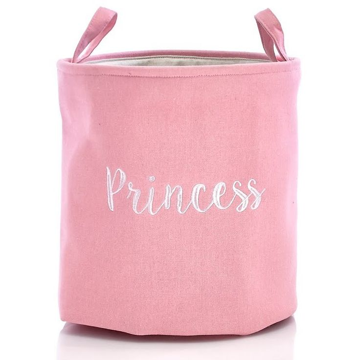 "Princess Pink 16"" Canvas Kids Hamper 612067714"