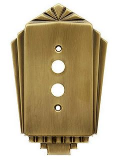 It's the little details that complete a look - with a deco 1920's light switch you can't go wrong
