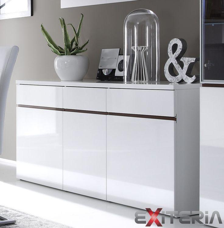 Široká kombinovaná komoda Cordelia  Cordelia furniture - chest of drawer
