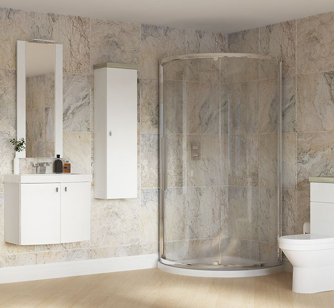 Modular White Gloss - Bright reflective and fresh, White Gloss modular furniture provides stylish storage and maximises floor space. It's easy to keep clean too, which is great news for family bathrooms.