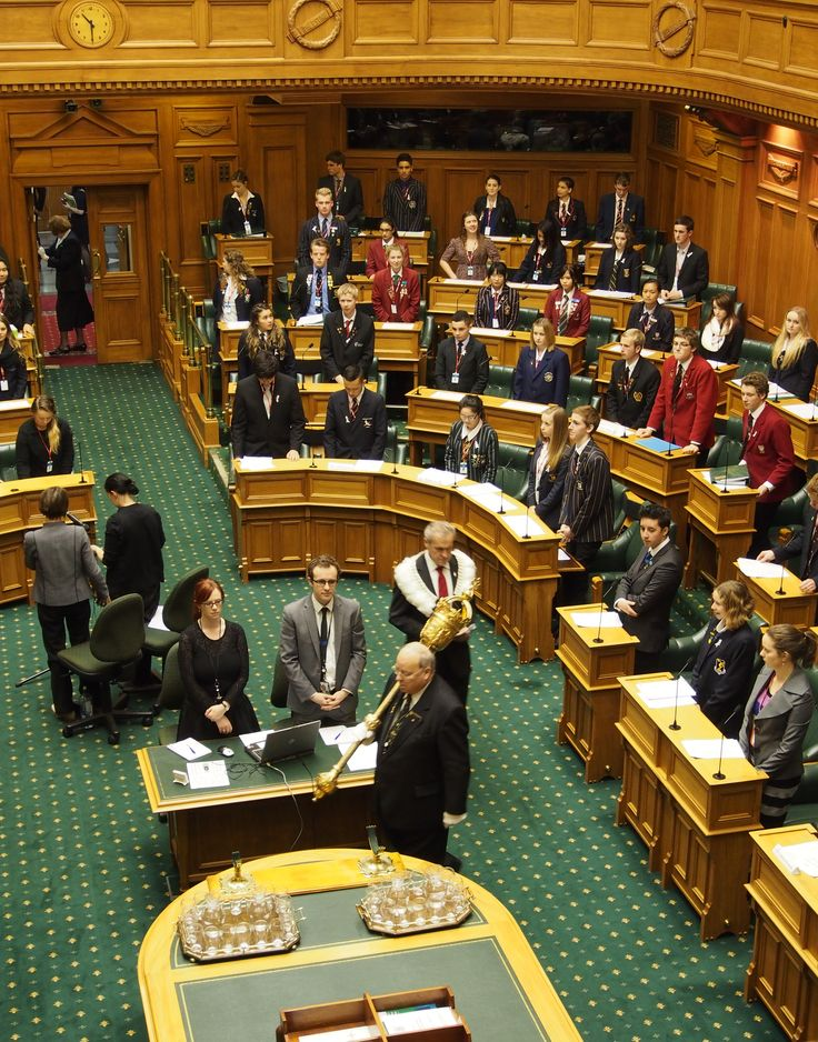 Serjeant-in-Arms Opening the House