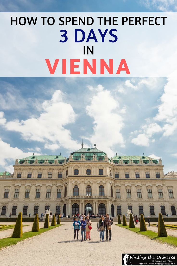 How to spend three days in Vienna - a detailed guide to what to see in Vienna, practicalities for visiting Vienna, where to eat in Vienna, how to get around Vienna, money saving tips for your Vienna visit, and tips on finding accommodation in Vienna #travel #austria #vienna