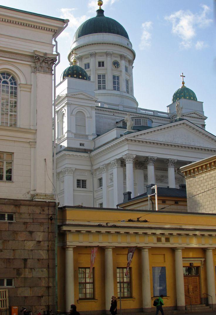 Landscape in Helsinki City by Aili Alaiso