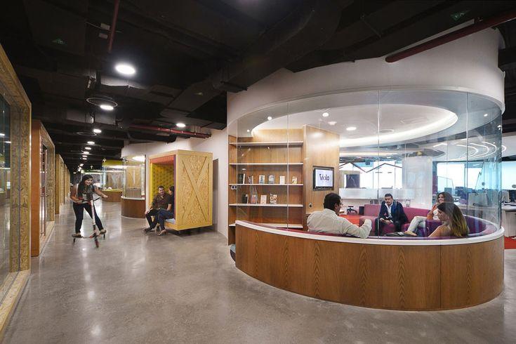 Офис «с драйвом» в Абу-Даби :: Архилента