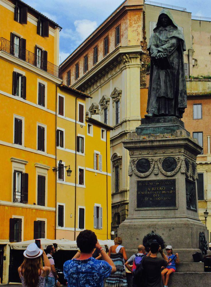 Roma - Campo de' Fiori - Giordano Bruno