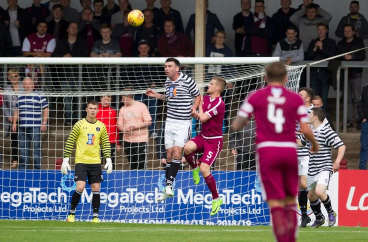 Queen's Park's Kevin Green in action during the SPFL League One game between Arbroath and Queen's Park.