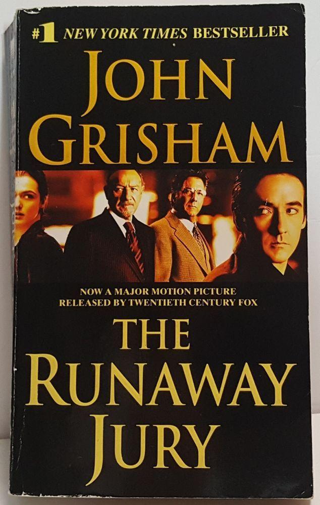 Runaway Jury John Grisham Book The Runaway book Jury John Grisham movie tie-in