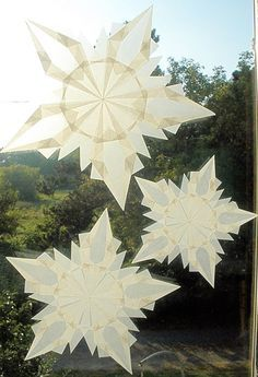 waldorf kite paper stars - Google Search