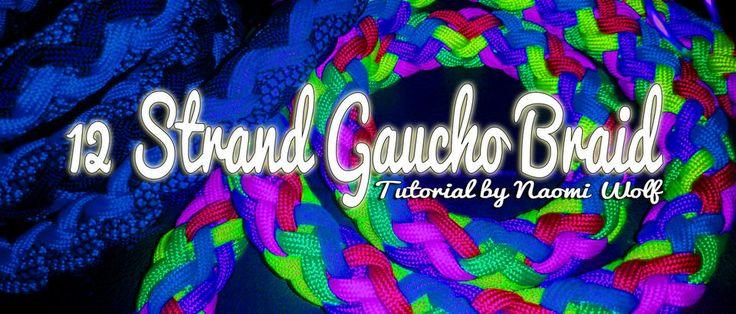 12 Strand Gaucho Braid | Swiss Paracord