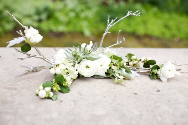 bridesmaid bouquet with a sprinkling of silver twigs  Photography by perezweddings.com, Planning, Floral   Event Design by toddevents.com