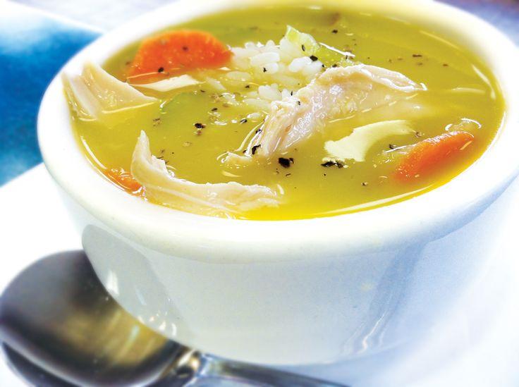 """Esta es una """"sopa"""" que preparo muchas veces para cenar acompañando a algún pescadito. A mi niña le gusta mucho! Y se hace enseguida! ..."""
