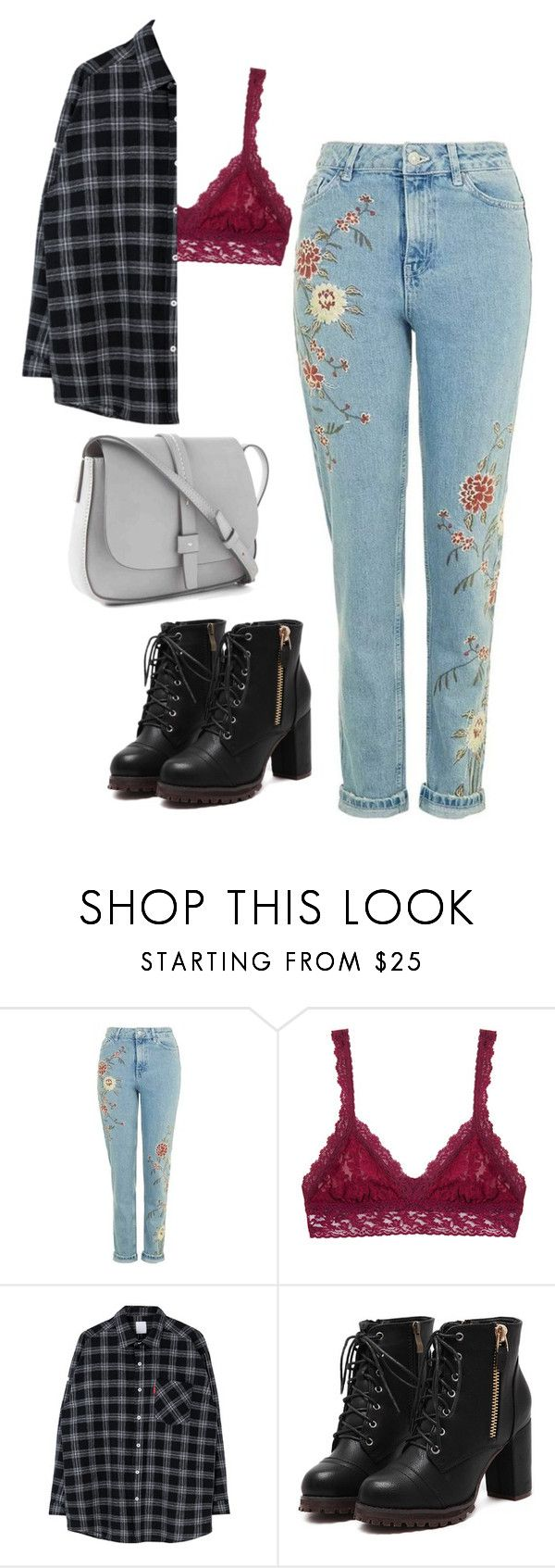 """listening to my new fav song"" by vincentvangoth ❤ liked on Polyvore featuring Hanky Panky and Gap"